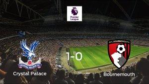 El Crystal Palace gana 1-0 al Bournemouth y se lleva los tres puntos