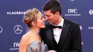 Djokovic fue premiado con el Laureus