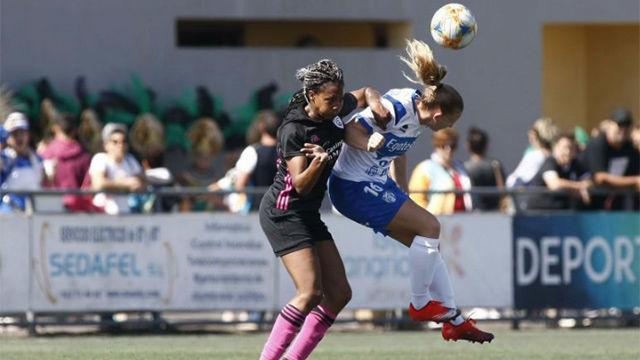 Empate a dos entre Granadilla Tenerife y Madrid CFF