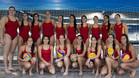 El equipo femenino de waterpolo, listo para el Europeo