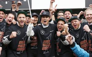 El equipo de Pascal Wehrlein celebró el título conseguido