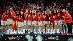 España sigue en la elite del baloncesto mundial femenino