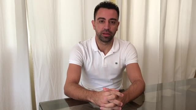 Este es el mensaje de Xavi Hernández en la jornada de referéndum en Catalunya (En castellano)