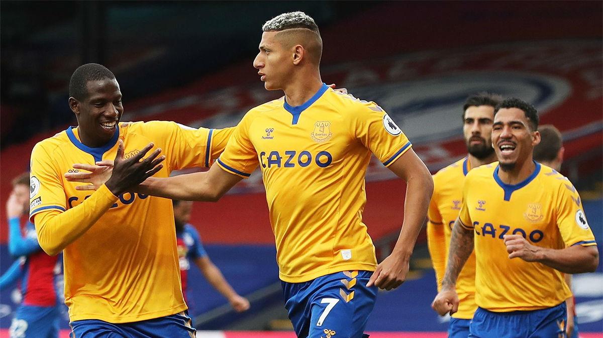 El Everton de James también se impone al Crystal Palace (1-2)