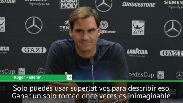 Federer sobre Nadal: Solo puedes usar superlativos