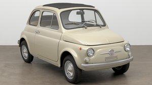 El Fiat 500 serie F.