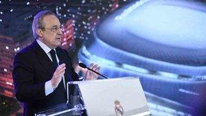 Florentino Pérez lidera la nueva superliga mundial