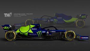 El Fórmula 1 de Valentino Rossi, según Tim Holmes.
