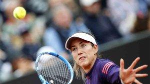 Garbiñe Muguruza participará en Roland Garros