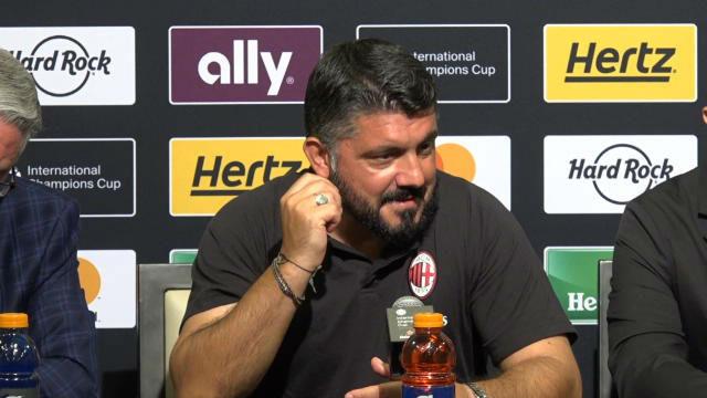 Gattuso se rindió a la calidad de Riqui Puig