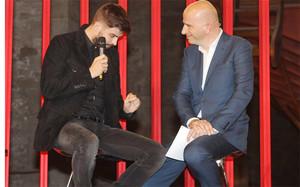 Gerard Piqué se emocionó con su premio