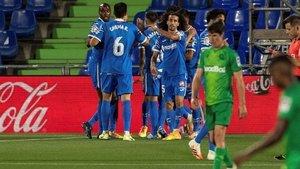 El Getafe acumula dos empates, una victoria y una derrota en sus últimos partidos