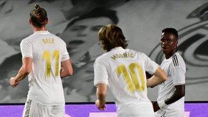 El gol de Vinicius abrió el camino de la victoria madridista