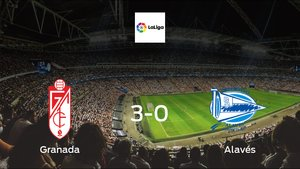 Granada ease to victory over Alavés with a 3-0 at Los Carmenes