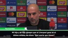 Guardiola aclara el malentendido con Klopp: Era un elogio para el Liverpool