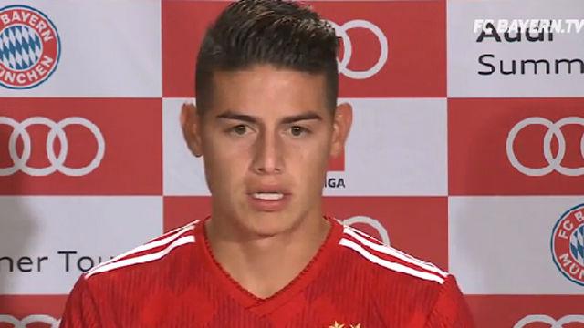 James habla sobre su futuro en el Bayern