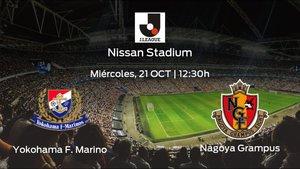 Jornada 33 de Liga Japonesa J1: previa del encuentro Yokohama F. Marinos - Nagoya Grampus