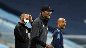 Klopp perdió ante el Manchester City de Guardiola