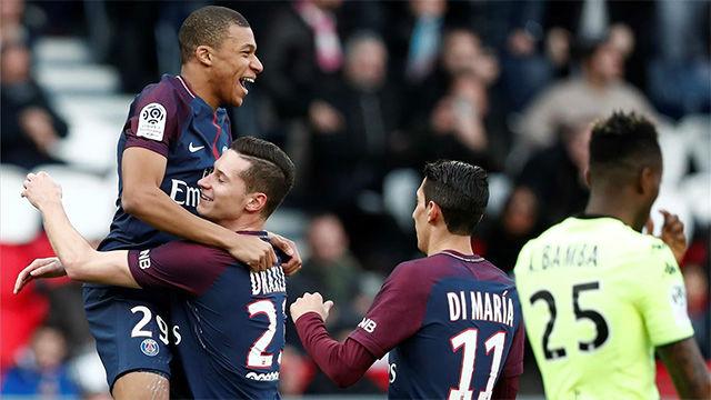 LALIGA FRANCIA | PSG - ANGERS (2-1): El gol de Mbappé