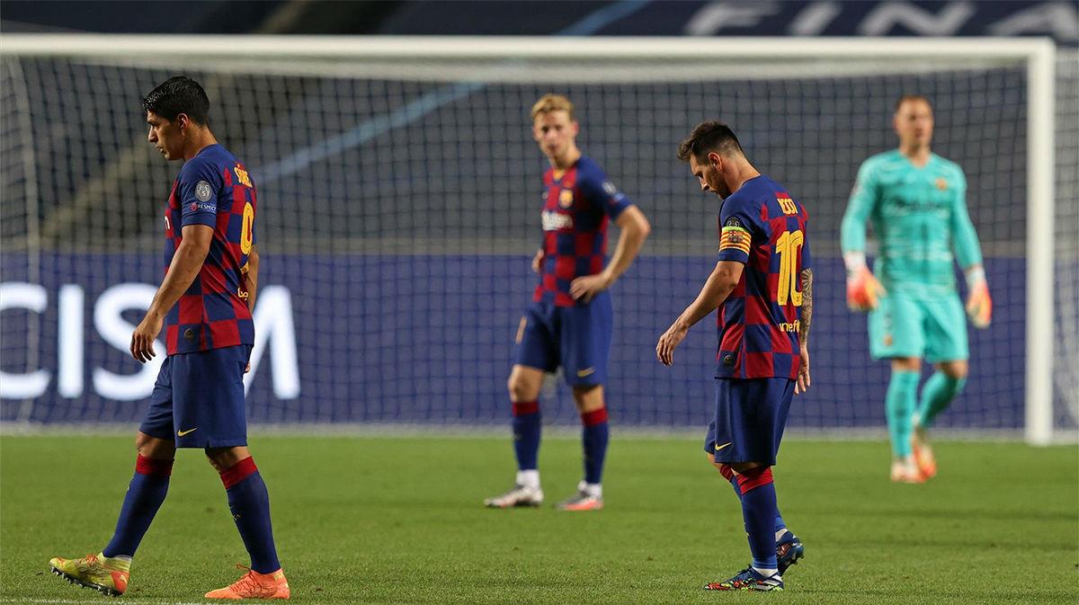 Las cenizas de un ciclo ganador en el Barça