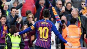 Leo Messi ha hecho más grande la historia del Camp Nou
