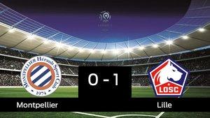 El Lille vence al Montpellier en el Stade de la Mosson (0-1)