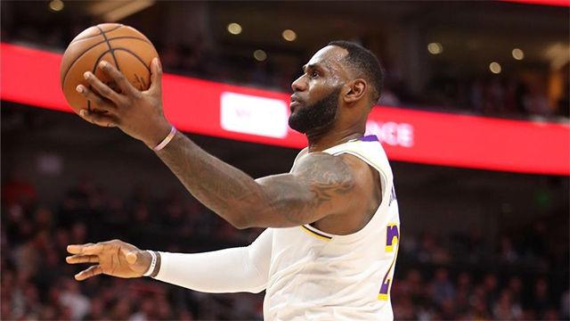 Los Lakers continúan en lo más alto