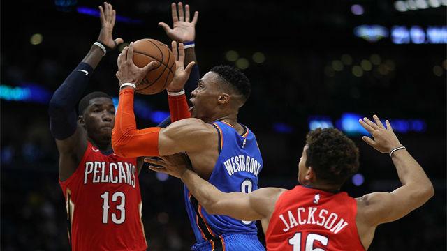 Los Pelicans se imponen a los Thunder