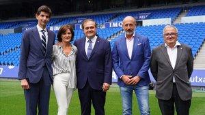 Los presidentes vascos buscan soluciones para llenar los estadios