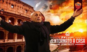 Luciano Spalletti volverá al banquillo de la Roma
