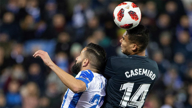 Al Madrid le basta con su versión más pobre para pasar contra el Leganés