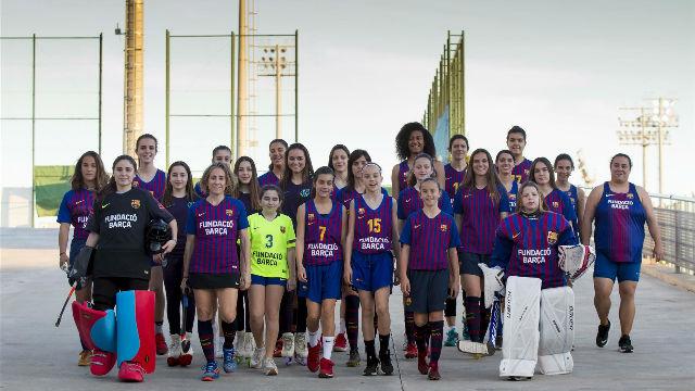 El making of de la foto de las mujeres del Barça