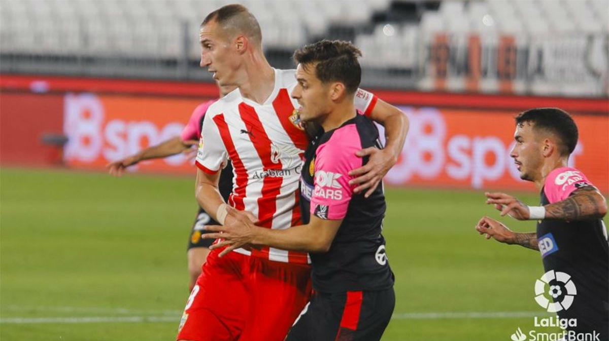El Mallorca mantiene el liderato tras su victoria ante el Almería