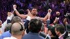Manny Pacquiao se coronó una vez más en Las Vegas