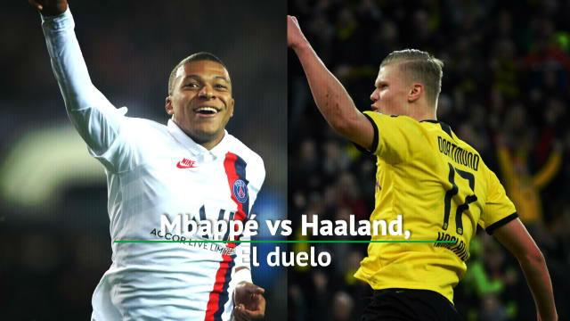 Mbappé VS and Haaland: Duelo de jóvenes estrellas