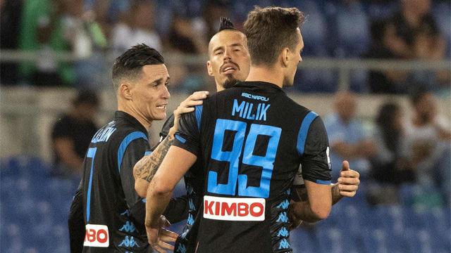 El Nápoles remonta a la Lazio en el inicio de la Serie A
