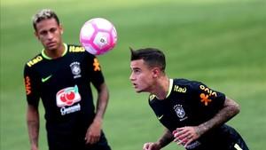 Neymar y Coutinho han vivido el éxito de muy cerca