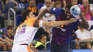 En el Palau el Barça ganó al Montpellier con una gran solvencia