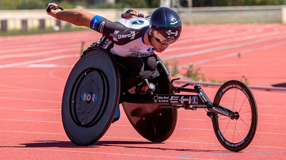 El paralímpico José Manuel Quintero ya mira a Tokio 2021