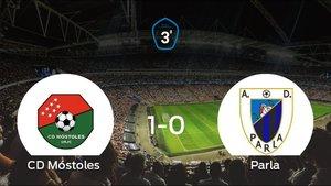 El Parla perdió 1-0 en casa del Móstoles