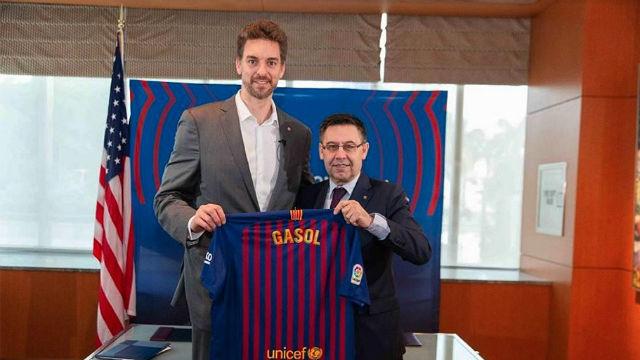 Pau Gasol se une al Barcelona