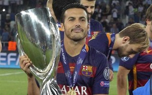 Pedro volvió a ser el héroe del Barça en una Supercopa de Europa