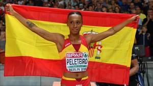Peleteiro logró el bronce y rozó la plata