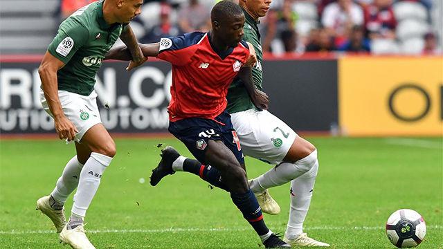 Pépé, el delantero que sigue el Barça, volvió a marcar en la Ligue 1