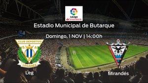 Previa del encuentro: el Leganés recibe al CD Mirandés en la décima jornada