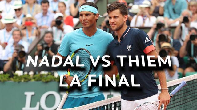 La previa de la final de Roland Garros entre Nadal y Thiem