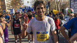 Raúl González finaliza la Mitja Marató de Barcelona a 4 min/km | Marca