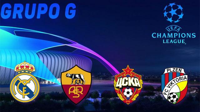 El Real Madrid se enfrentará a la Roma, CSKA de Moscú y Viktoria Plisen