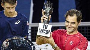 Roger Federer es el último campeón de Basilea