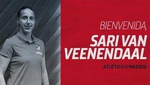 Sari Van Veenendaal ficha por el Atlético de Madrid